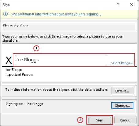 Cách chèn chữ ký vào Microsoft Word 33