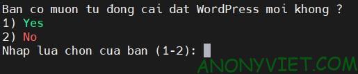 Cài đặt wordpress mới nhất