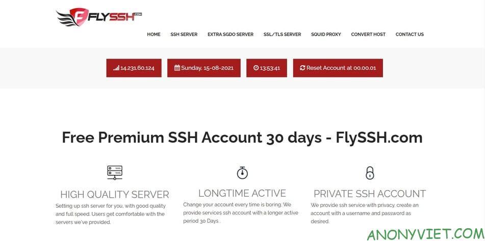 FlySSH Hack 4G