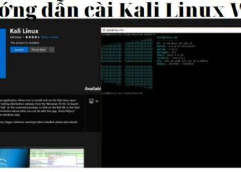 Hướng dẫn cài Kali Linux WSL