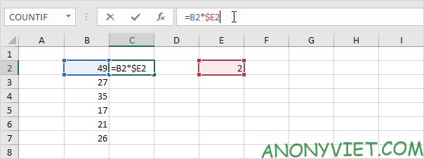 Bài 129: Tham chiếu tuyệt đối trong Excel 76