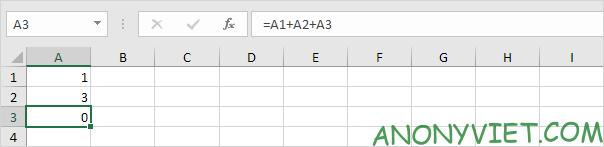 Bài 197: Tham chiếu vòng tròn trong Excel 68
