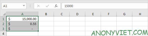 Bài 41: Định dạng đơn vị tiền tệ trong Excel 20