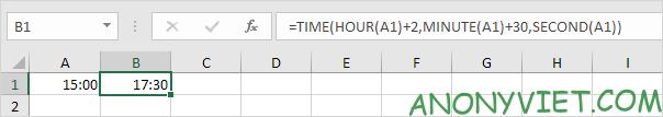 Bài 139: Cộng trừ thời gian trong Excel 60