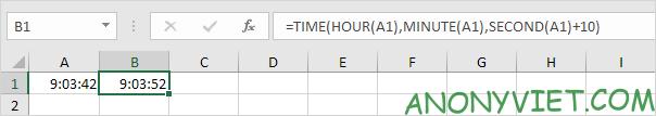 Bài 139: Cộng trừ thời gian trong Excel 62