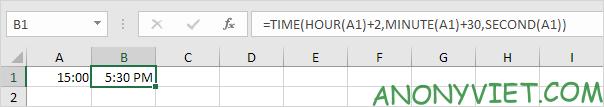 Bài 139: Cộng trừ thời gian trong Excel 58