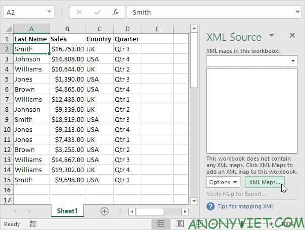 Bài 98: Cách chuyển file Excel sang XML 32