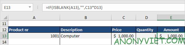 Bài 62: Cách tạo hóa đơn tự động trong Excel 36