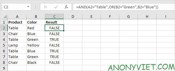 Bài 115: Điều kiện Or trong Excel 34