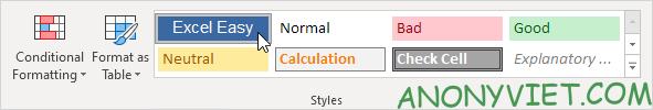Bài 46: Cách sử dụng Cell Style trang trí các Ô trong Excel 39