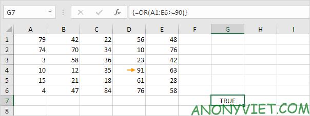 Bài 115: Điều kiện Or trong Excel 33