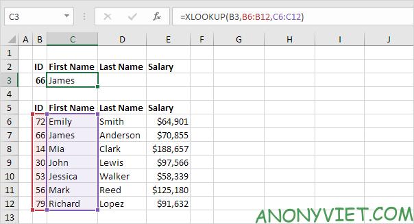 Bài 166: Cách sử dụng hàm Xlookup trong Excel 51