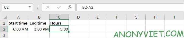 Bài 135: Tính toán thời gian trong Excel