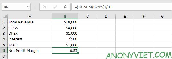 Bài 176: Tỷ suất lợi nhuận trong Excel 66