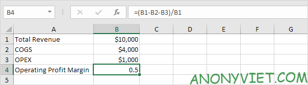 Bài 176: Tỷ suất lợi nhuận trong Excel 61