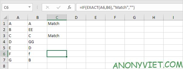 Bài 165: So sánh 2 cột trong Excel 39