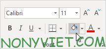 Bài 54: Cách Đánh dấu các ô khác nhau trong 1 hàng Excel 35