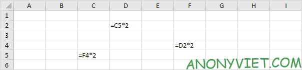 Bài 197: Tham chiếu vòng tròn trong Excel 76