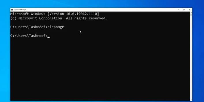 Cách dọn PC của bạn bằng Command Prompt