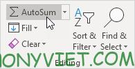 Bài 109: Cách sử dụng hàm SUM trong Excel 44