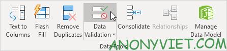 Bài 70: Cách tạo Menu xổ xuống trong Excel 92