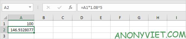 Bài 170: Cách tính lãi kép trong Excel 41