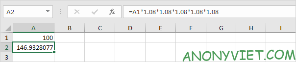 Bài 170: Cách tính lãi kép trong Excel 40