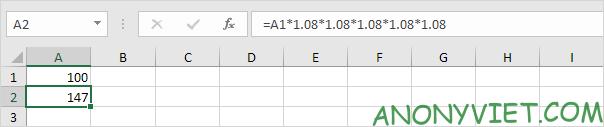 Bài 171: Tỷ lệ tăng trưởng kép hàng năm trong Excel 22