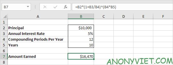 Bài 170: Cách tính lãi kép trong Excel 44