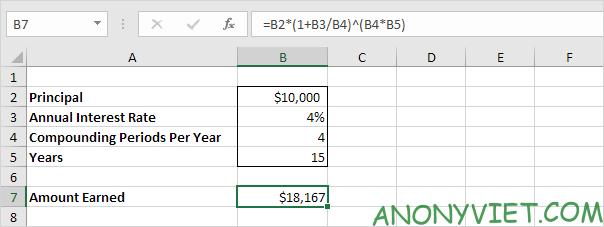 Bài 170: Cách tính lãi kép trong Excel 43