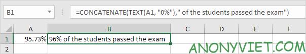 Bài 152: Cách sử dụng hàm Concatenate trong Excel 60