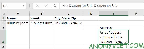 Bài 80: Cách xuống dòng trong ô Excel 28