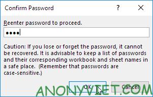 Bài 100: Cách bảo vệ trang tính Excel bằng mật khẩu 20