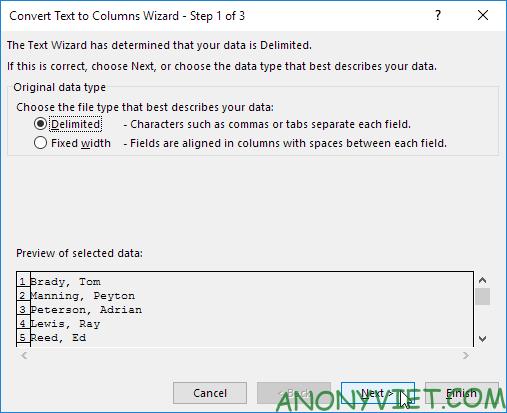 Bài 144: Tách nội dung thành các cột riêng biệt trong Excel 26