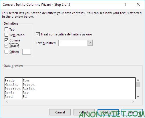 Bài 144: Tách nội dung thành các cột riêng biệt trong Excel 27