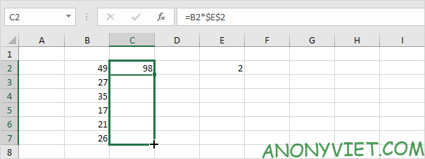 Bài 129: Tham chiếu tuyệt đối trong Excel 63