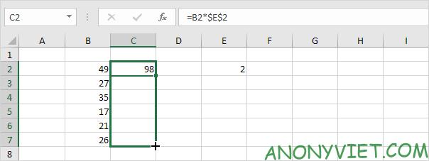 Bài 122: Cách sao chép công thức trong Excel 77