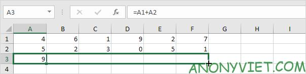 Bài 122: Cách sao chép công thức trong Excel 72