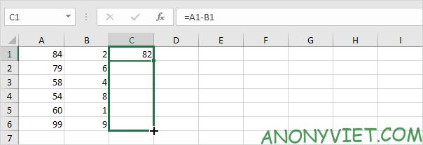 Bài 122: Cách sao chép công thức trong Excel 74