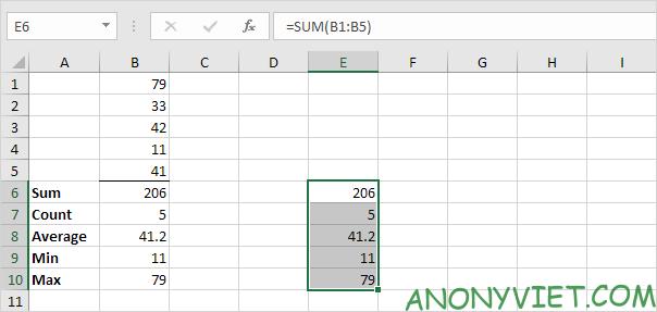 Bài 122: Cách sao chép công thức trong Excel 88