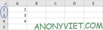 Bài 55: Cách sao chép các ô hiển thị trong Excel