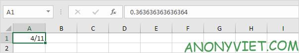 Bài 40: Cách nhập và định dạng Phân số trong Excel 34