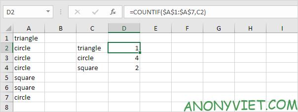 Bài 206: Từ xuất hiện thường xuyên nhất trong Excel 25