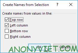 Bài 157: Tra cứu hai chiều trong Excel 45