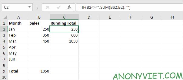 Bài 110: Cách tự động tính tổng trong Excel 35