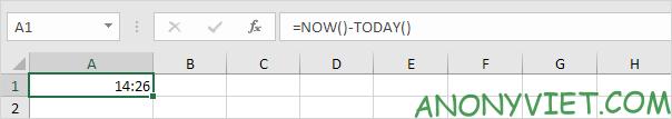 Bài 132: Cách sử dụng hàm TODAY trong Excel 29