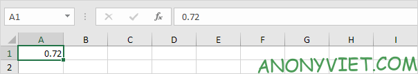 Nhập giá trị Excel