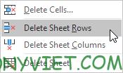Bài 53: Cách xóa hàng trống trong Excel 35