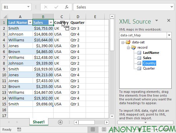 Bài 98: Cách chuyển file Excel sang XML 34