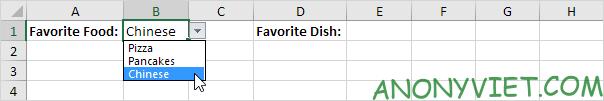 Bài 71: Cách tạo danh sách phụ thuộc trong Excel 38